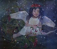 Christmas Angel  by LindArtz