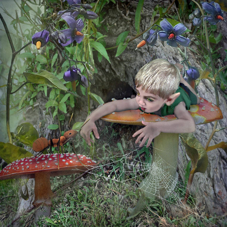 Forest Friends  by LindArtz
