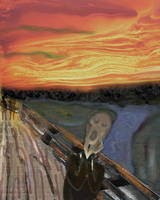 The Scream (Within) by LindArtz