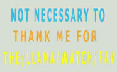 Not Necessary To Thank Me by LindArtz