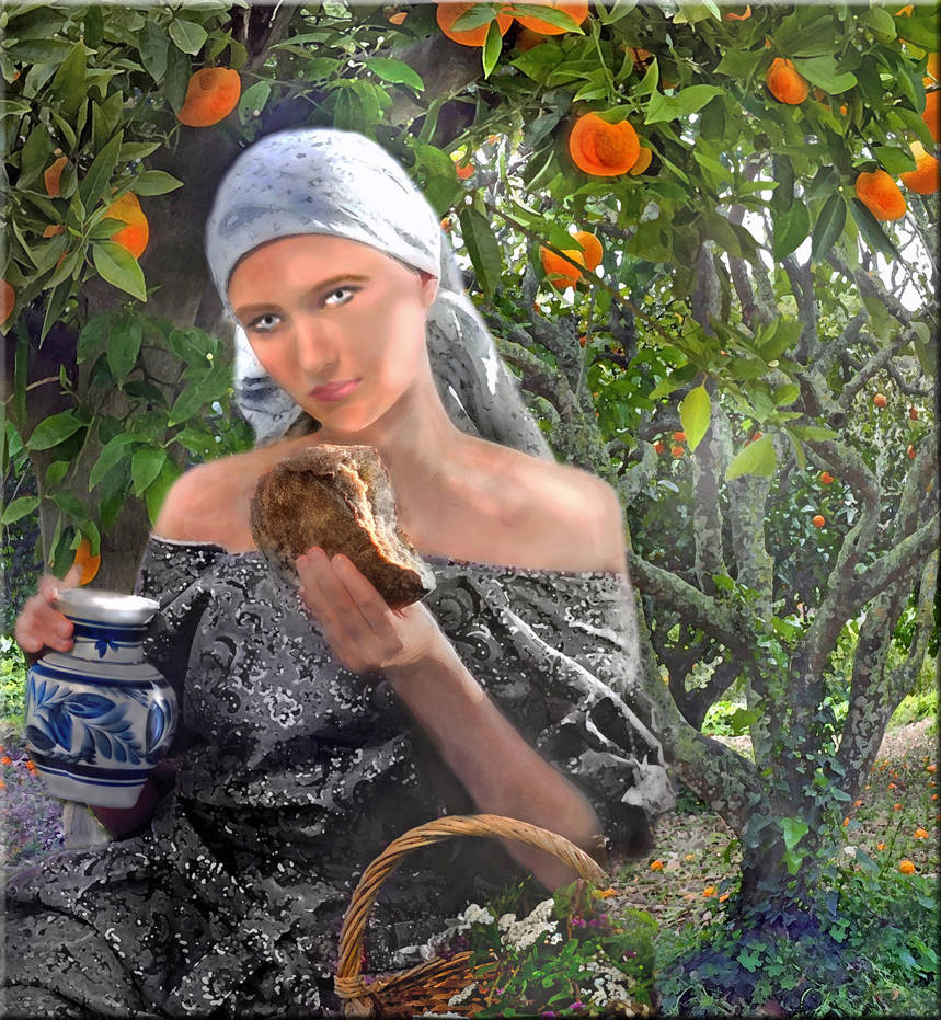 Russian Woman by LindArtz