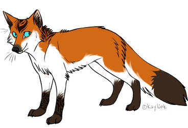 Red fox character by smockers