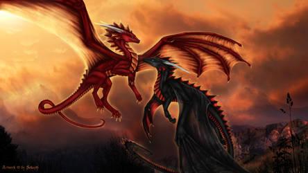 Dragon friends by Selianth