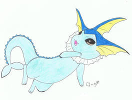 Aquali/Vaporeon/Aquana/Showers by erza51rock