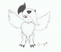 Mega Absol by erza51rock