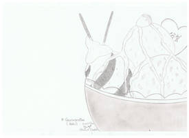 Dessin de glace/Drawing of ice cream by erza51rock