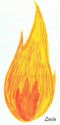 Flame/Flamme by erza51rock