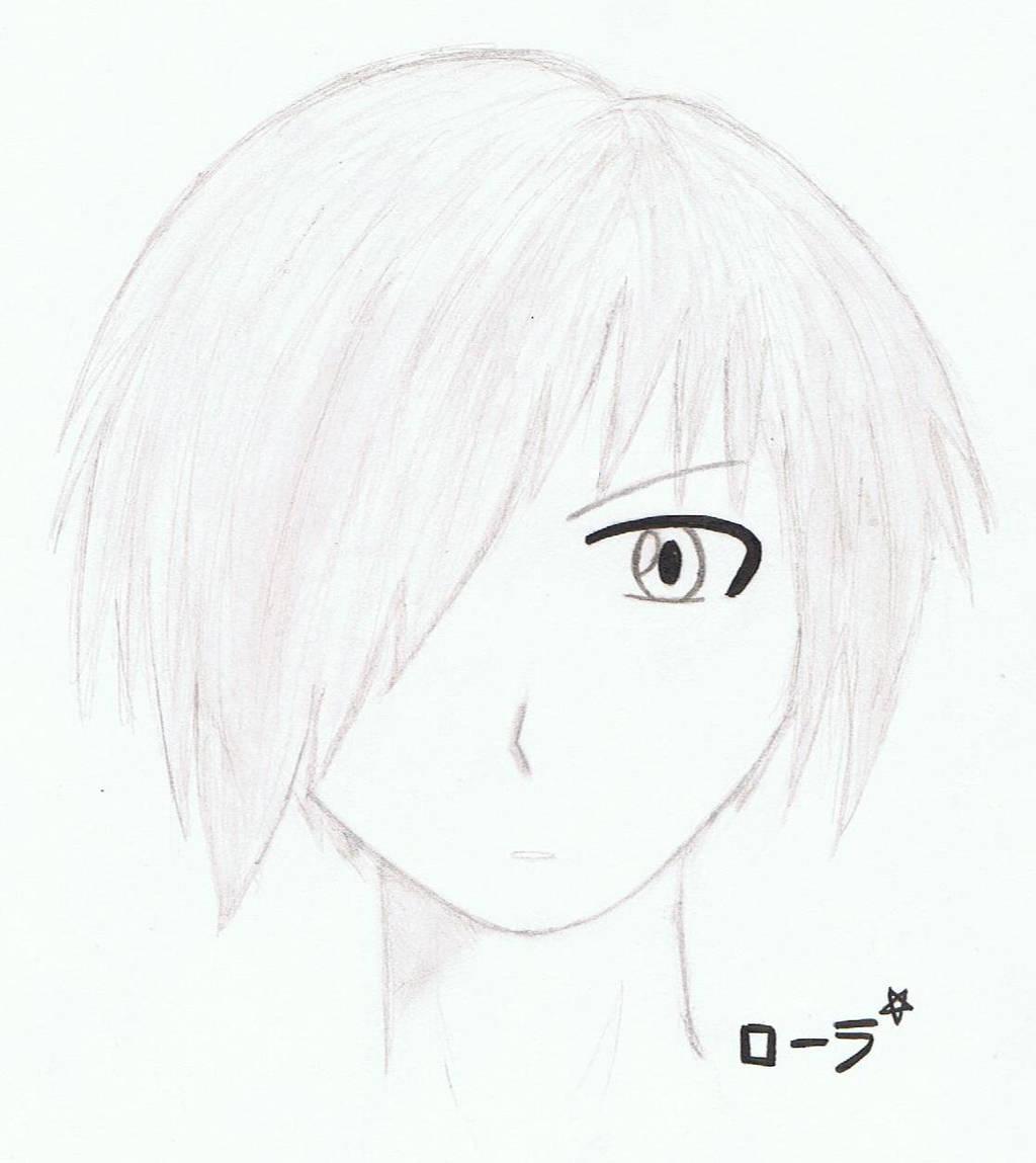 Portrait manga boy by erza51rock