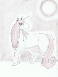 Licorne/Unicorne by erza51rock
