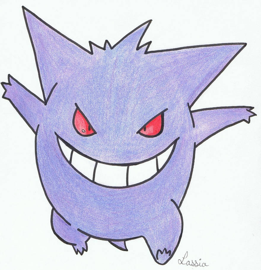 Ectoplasma/Gengar by erza51rock