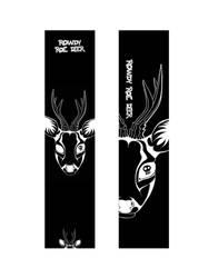 Rowdy Roe Deer by BramboraCzech