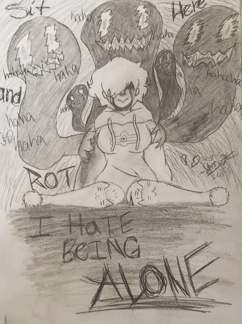 My...Depression also vent art by theonetheyamiyugifan