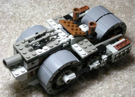 Siege Steam Tank Mk. IV (front) by RRaillery