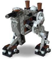 Scout Steam Bi-Walker Mk. XXXI by RRaillery