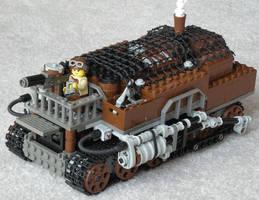Medium Steam Transport Vehicle Mk. XXXV by RRaillery