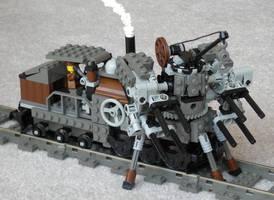 Steam Wreckage Railmech Mk. XXXVII by RRaillery