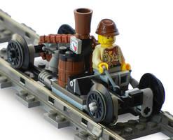 Super-Light Steam Rail Scout Mk. LI by RRaillery