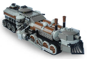 Light Steam Landship Mk. LXIII by RRaillery