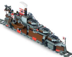 'Armada-Class' Heavy Steam Railship Mk. LXVI by RRaillery