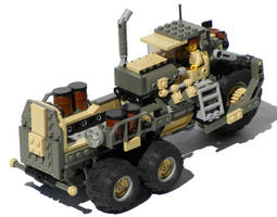 'Courser' Five-Wheeled Diesel Cargo Truck Mk. XIX by RRaillery