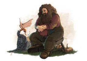 Hagrid-FanArt by VladislavPANtic