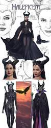 Maleficent-Concept Art-FanArt by VladislavPANtic