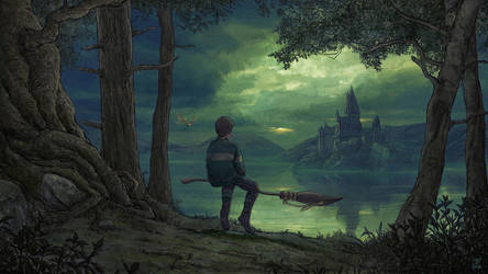 A Proud Slytherin-FanArt by VladislavPANtic