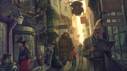 Harry Potter and the Philosopher's Stone-FanArt-03 by VladislavPANtic