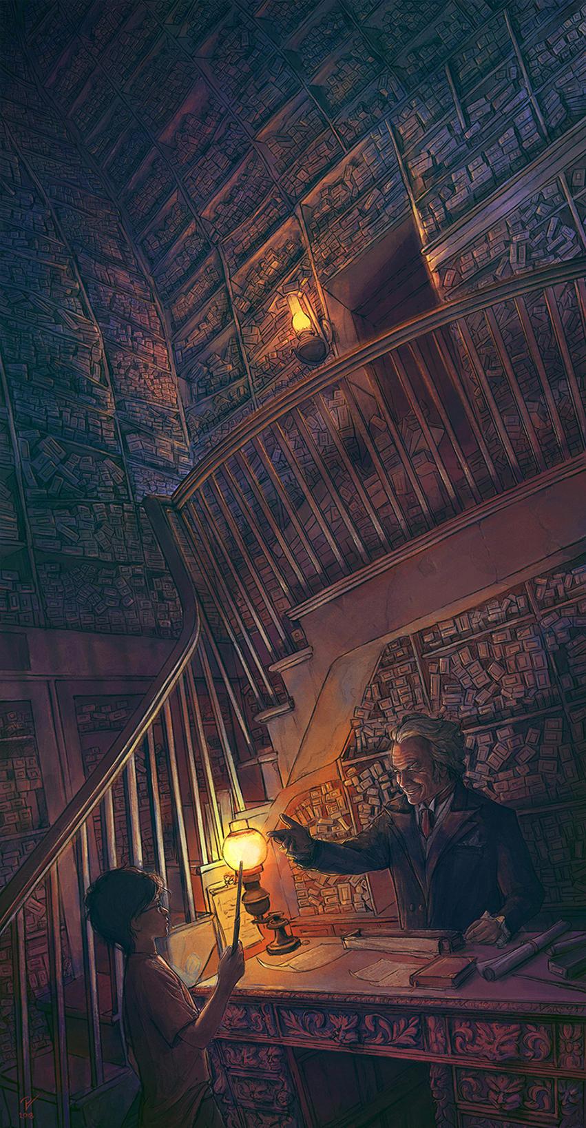 Harry Potter and the Philosopher's Stone-FanArt-04 by VladislavPANtic