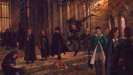 Harry Potter-FanArt-08 by VladislavPANtic