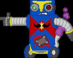 Cyborg-car from Fat Guy by CvH9000