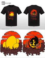 Dragon egg Tshirt by plainordinary1