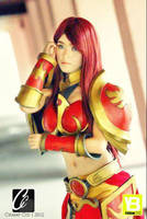 Leona league of legends by ailkeene