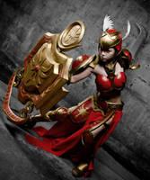 leona league of legends by ailkeene