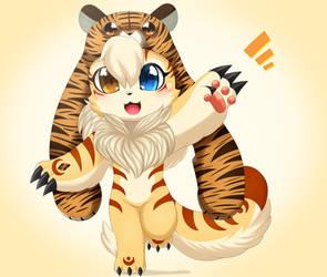 El Tigre que lleva sombrero by Cookie-Kit