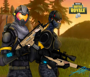 Elite Agent and Rogue Agent Fortnite by YarizethNajar5