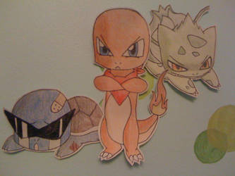 BETTER Kanto Starters by DirtyCreeper91