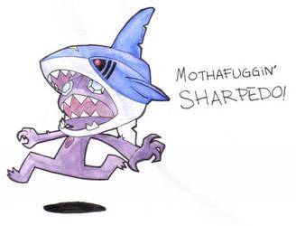 MOTHAFUGGIN SHARPEDO- Color by 8BitJack