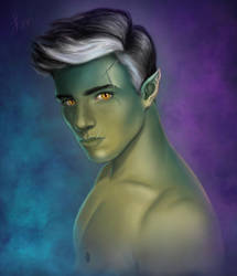 Fjord by lissarts