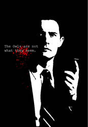 Cooper, Agent Cooper. by nursemmi