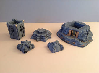 Dwarf Tower -sections by clevella