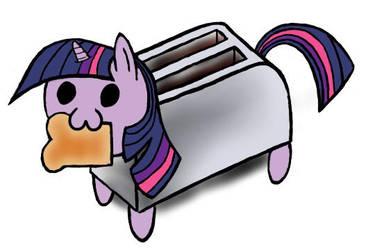 Toaster Sparkle by PirateCelestia