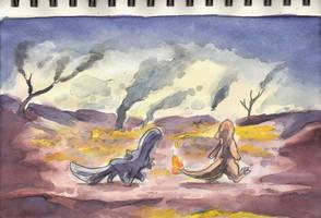 Run Away by Yamashita-akaDoragon