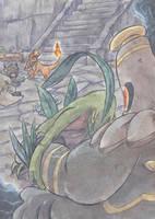 Through the Sea of Time by Yamashita-akaDoragon