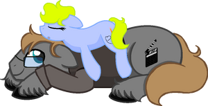 Daddy Ed ish mah bed by SummerSketch-MLP