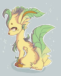 Leafeon by Derepesy
