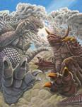 Kaiju Storm by Legrandzilla