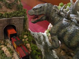 Godzilla Chase 5 by Legrandzilla
