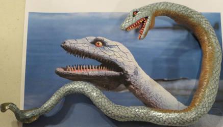 KKE Sea Serpent Sculpt by Legrandzilla