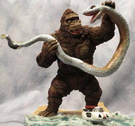King Kong Escapes (Sea Serpent Scene) by Legrandzilla